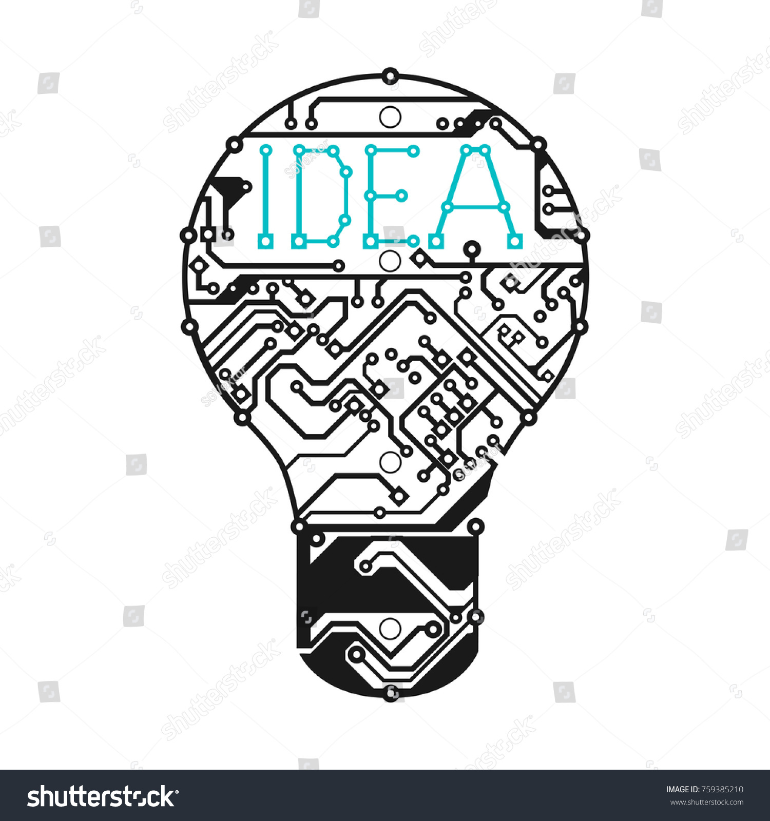 Modern Printed Circuit Board Symbol Photo - Everything You Need to ...