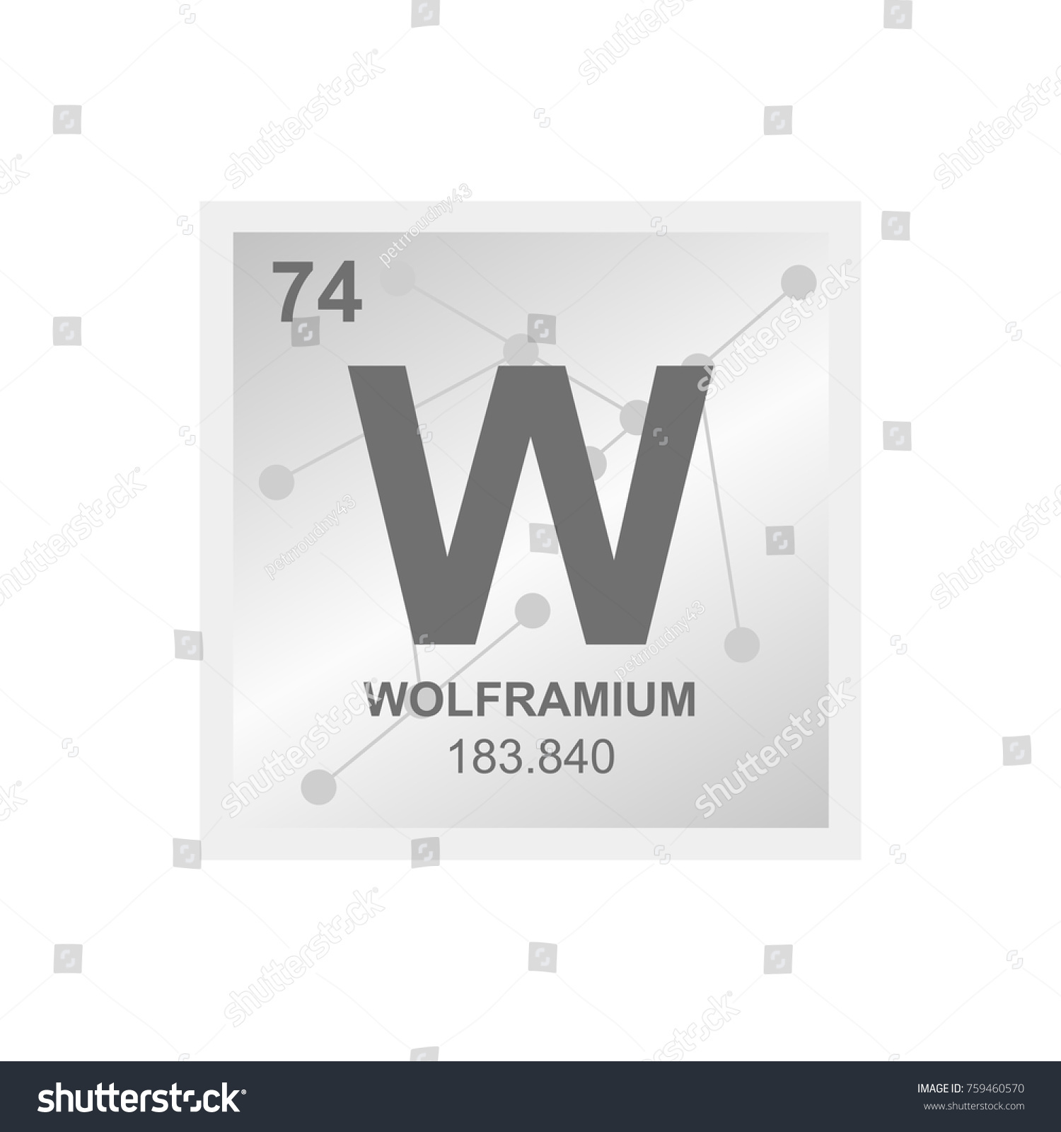 Aluminium symbol periodic table gallery periodic table images symbol for tungsten on periodic table image collections periodic vector symbol tungsten periodic table elements stock gamestrikefo Images