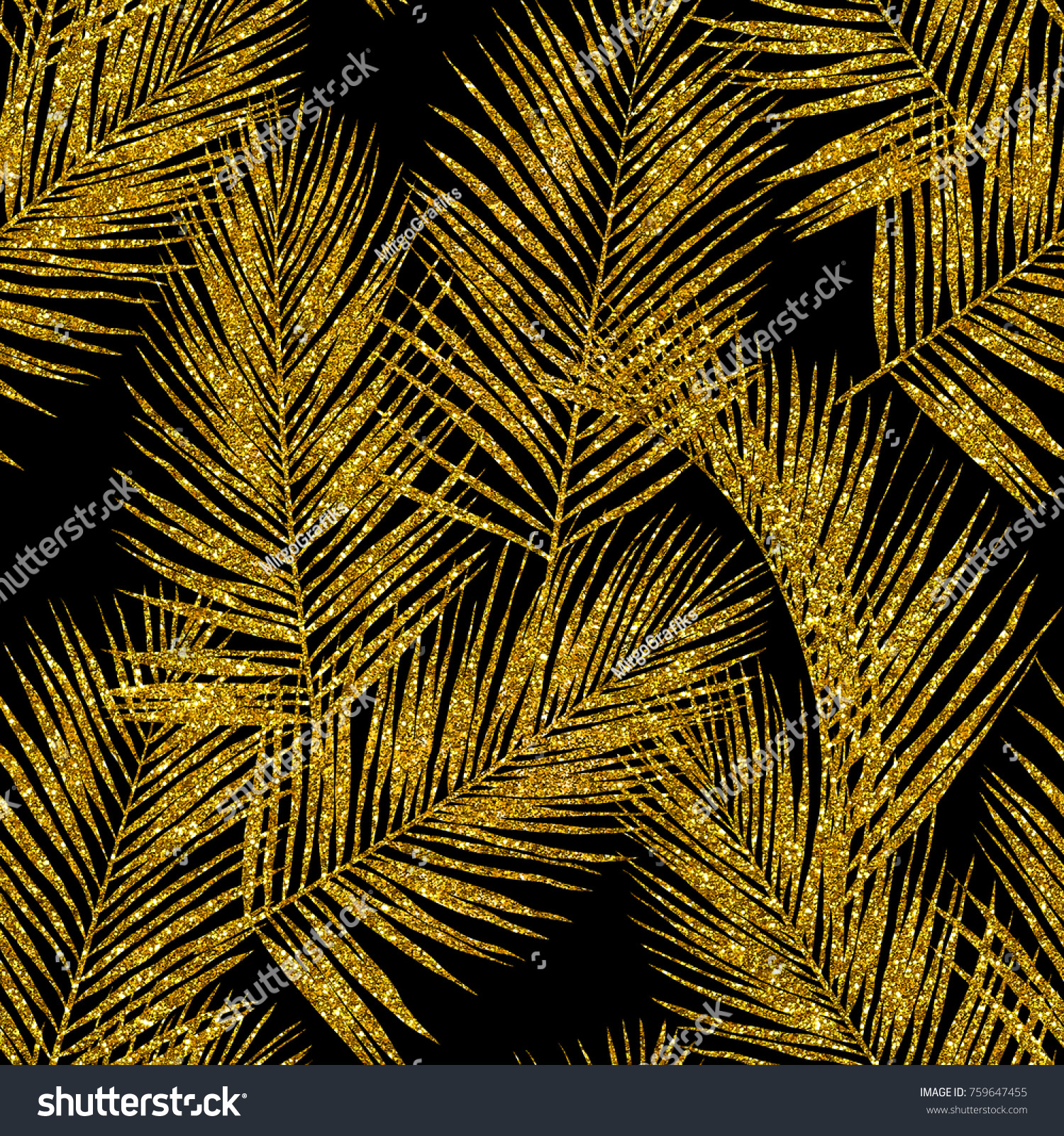 Download Wallpaper High Quality Glitter - stock-photo-gold-glitter-palm-leaves-on-black-background-seamless-hand-drawn-pattern-high-quality-jpg-image-759647455  Picture_792966.jpg