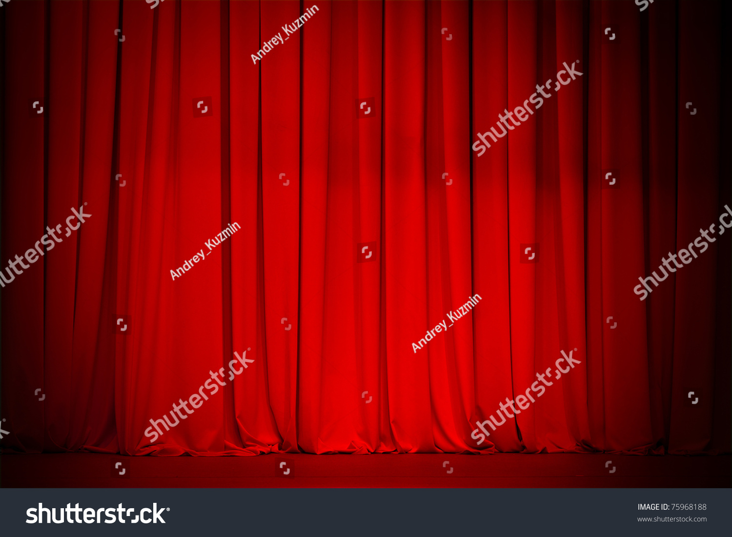 Big event red curtains with spotlight stock photo getty images - Red Curtain Background Stock Photo 75968188 Shutterstock
