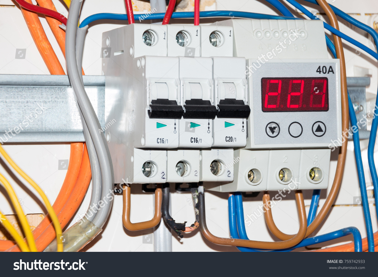 Fuse Box Opened Books Of Wiring Diagram Omap4 Block Switch Electrical Blows Stock Photo Edit Now Rh Shutterstock Com