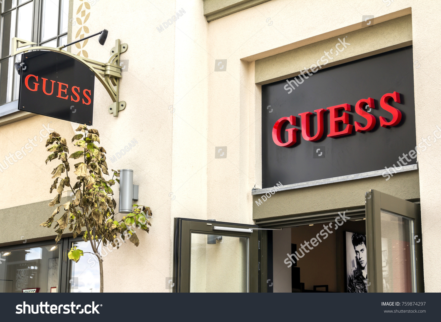 Ingolstadt Germany Aug 19 2017 Guess Stock Photo (Edit Now