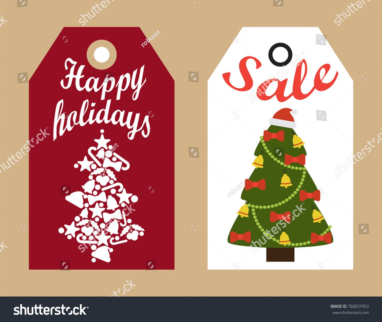 tags abstract christmas tree-#11