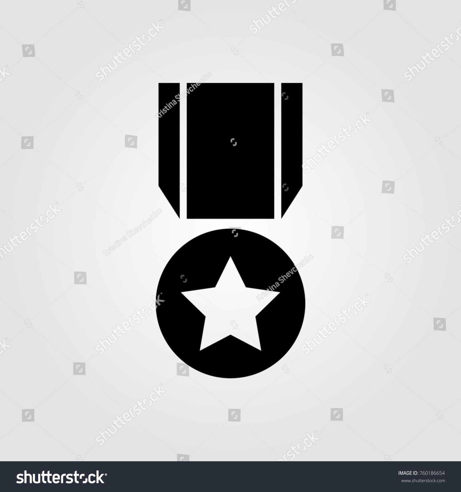 Army Reward Achievement Icon Stock Illustration 760186654 Shutterstock