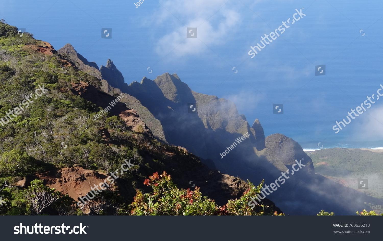 Hawaii Garteninsel Kauai Hawaiian Islands Stock Photo 760636210 ...