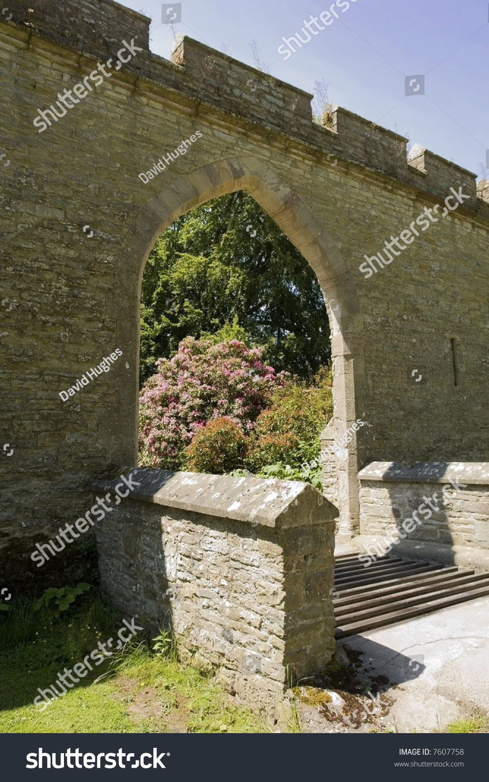 Croft Castle Yarpole Near Leominster Herefordshire Stock Photo ...