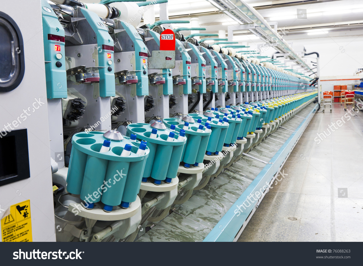 textile mill machine