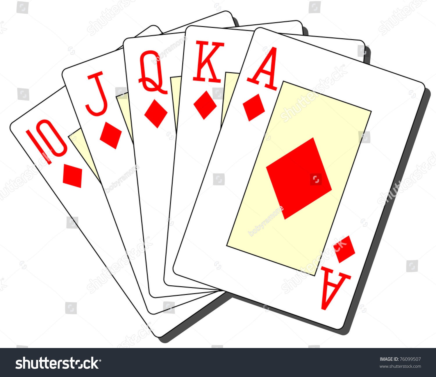 What is a royal flush in texas holdem