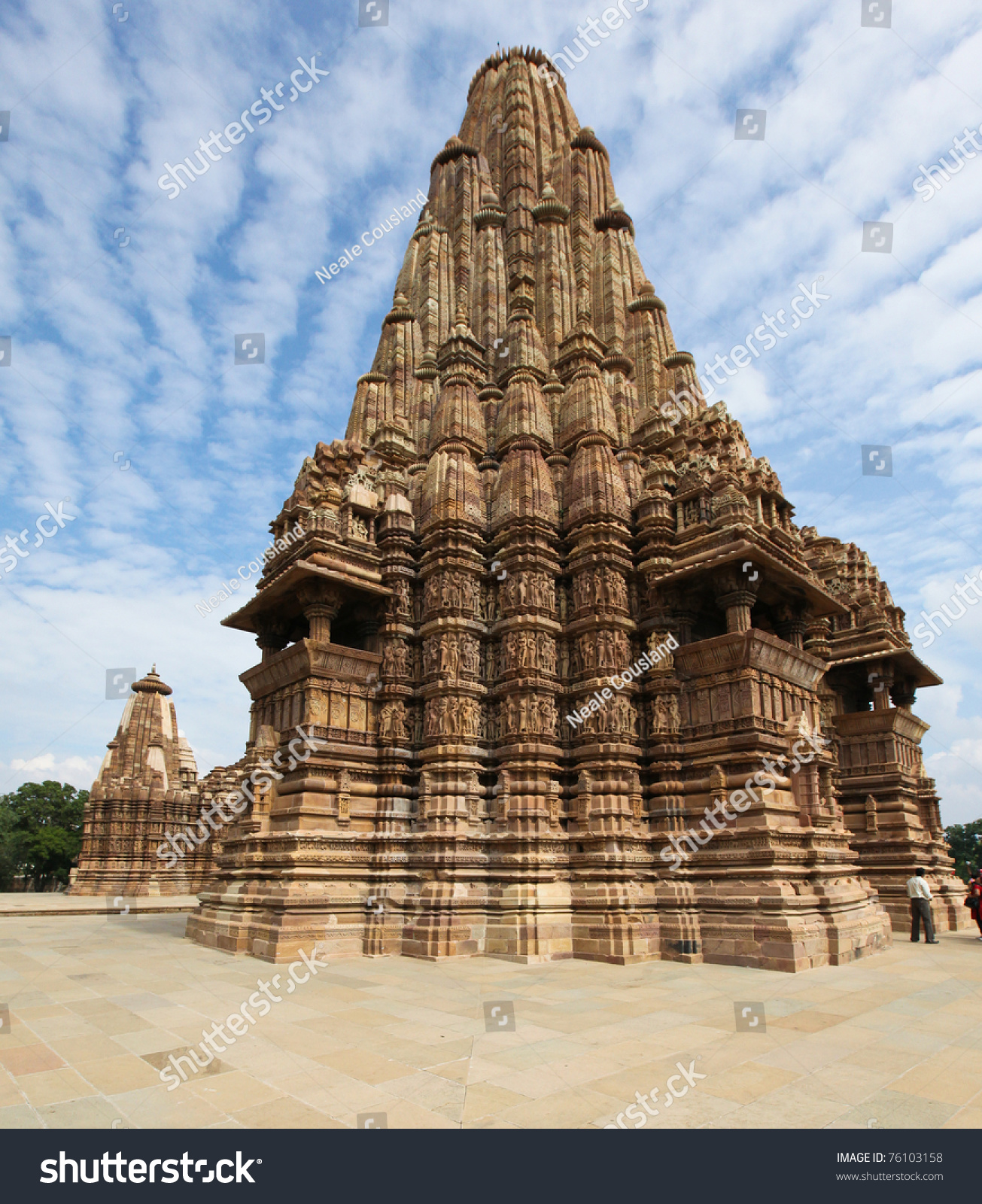 Khajuraho India  city images : Temples At Khajuraho, India Stock Photo 76103158 : Shutterstock