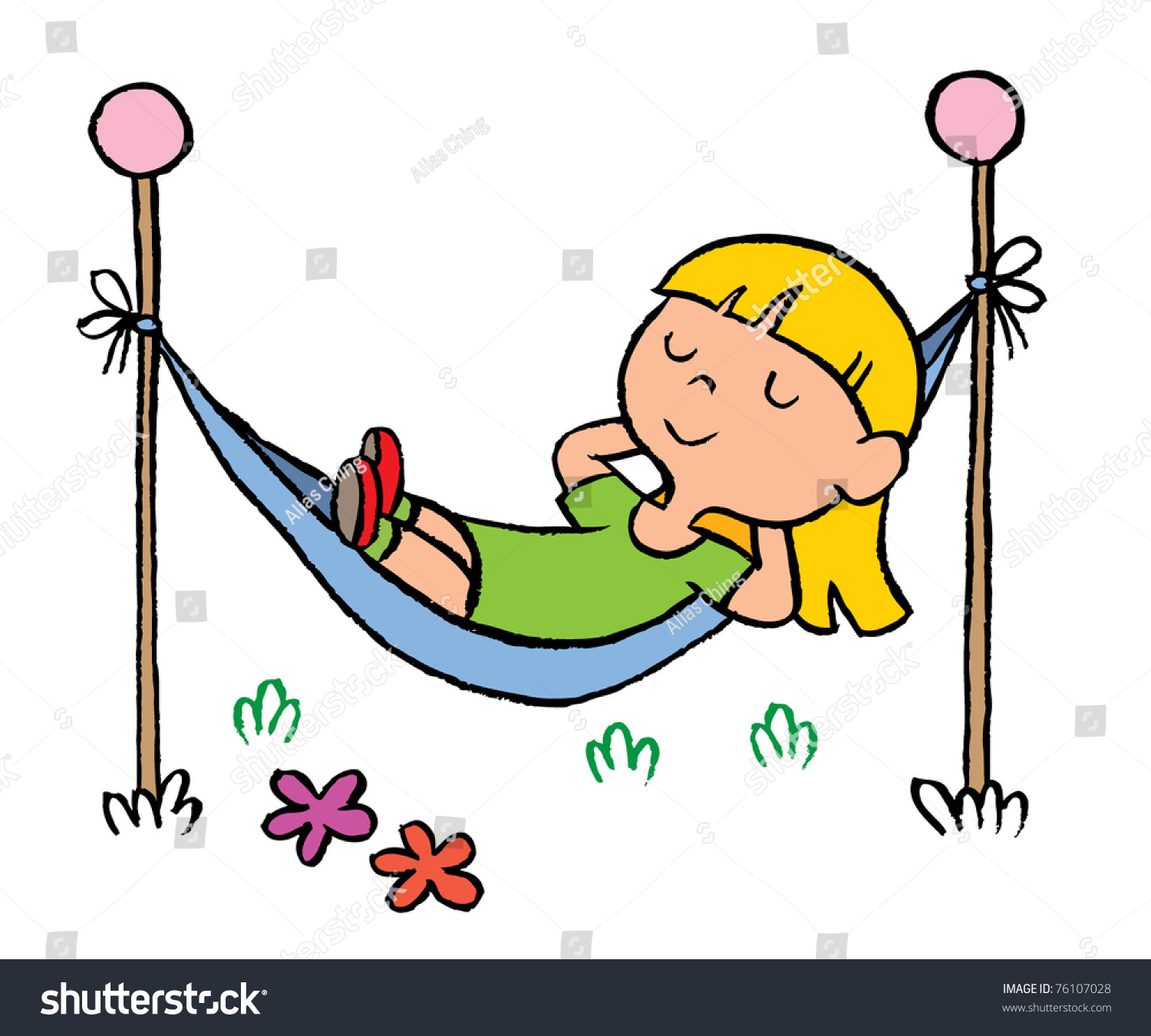 little girl relaxing hammock stock vector 76107028 olympic rings clip art free olympic rings clip art black and white