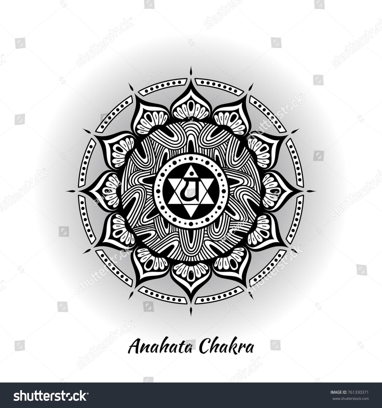 Anahata chakra symbol used hinduism buddhism stock vector 761330371 anahata chakra symbol used in hinduism buddhism ayurveda the root chakra design for buycottarizona Gallery
