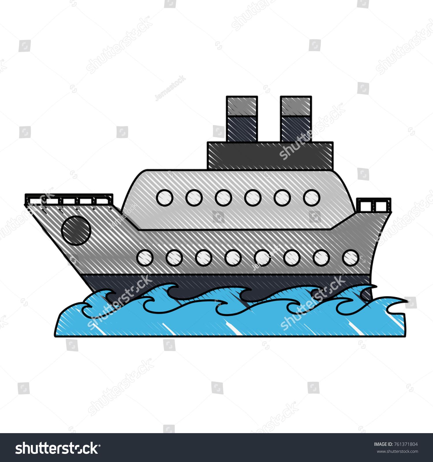 Cruise ship symbol stock vector 761371804 shutterstock cruise ship symbol buycottarizona