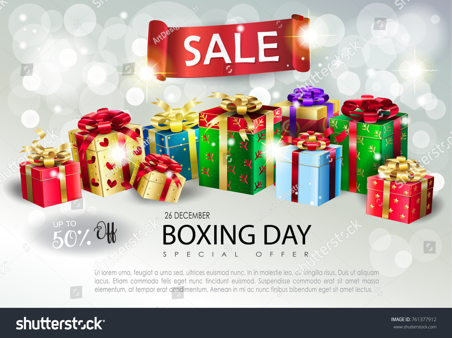 Boxing Day New Year Poster 2018 New Year Images