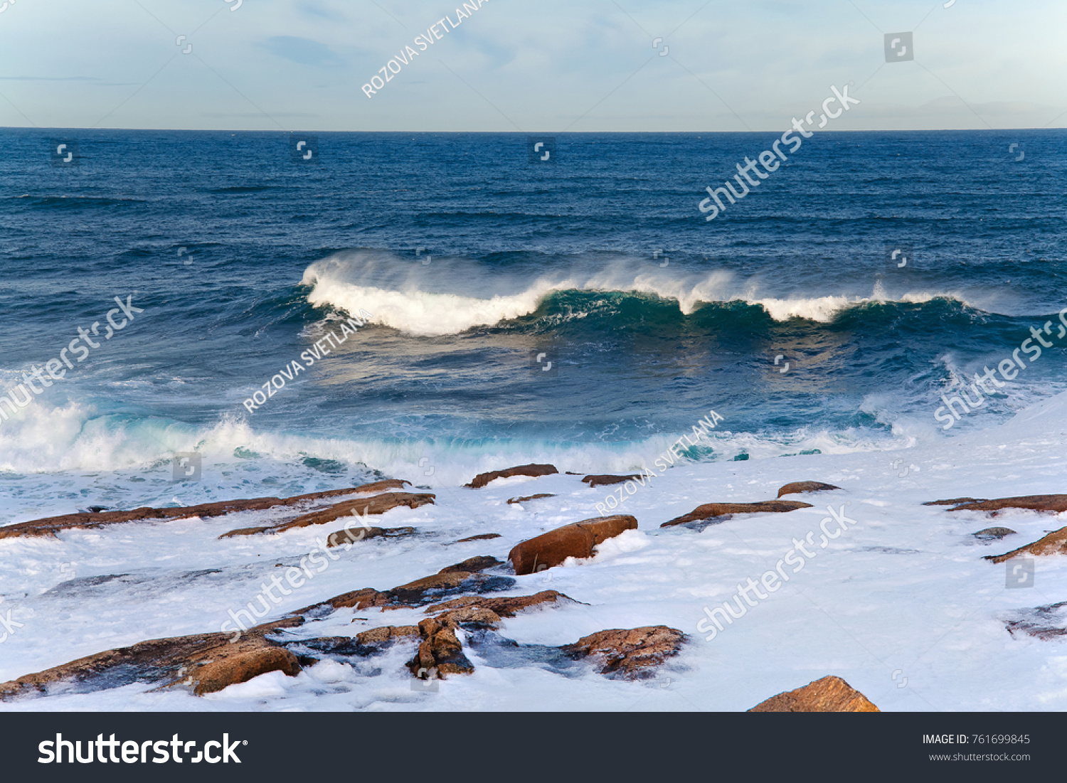 The harsh beaches of the Barents Sea