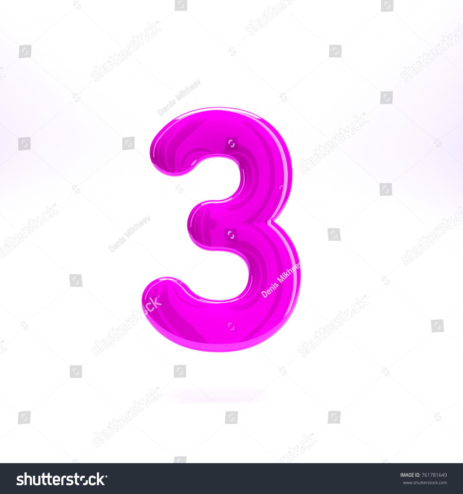 Pink letter s ,In 3d rendering. | EZ Canvas