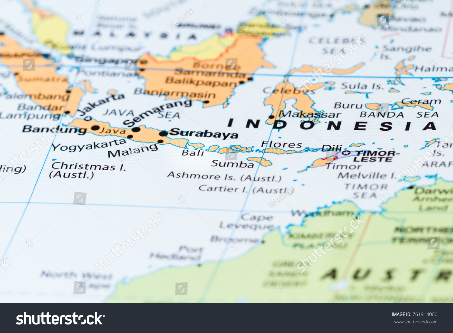 Close Bali Other South Pacific Islands Stock Photo (Edit Now ...