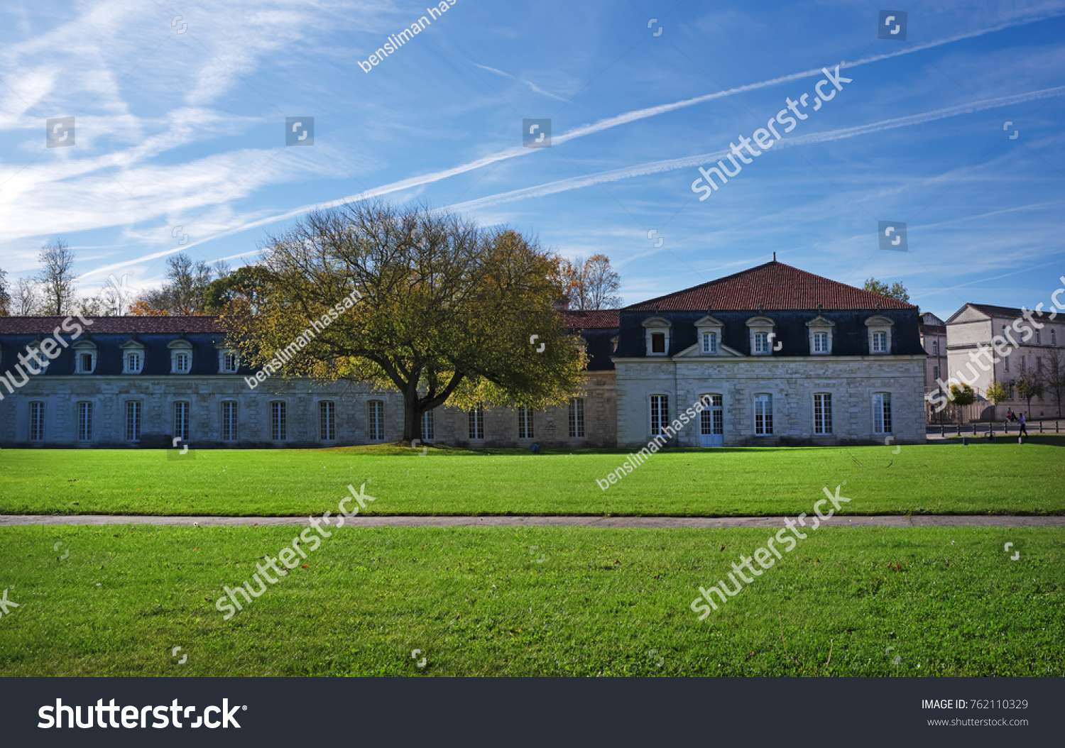 Corderie Royale Architecture Rochefort City Stock Photo