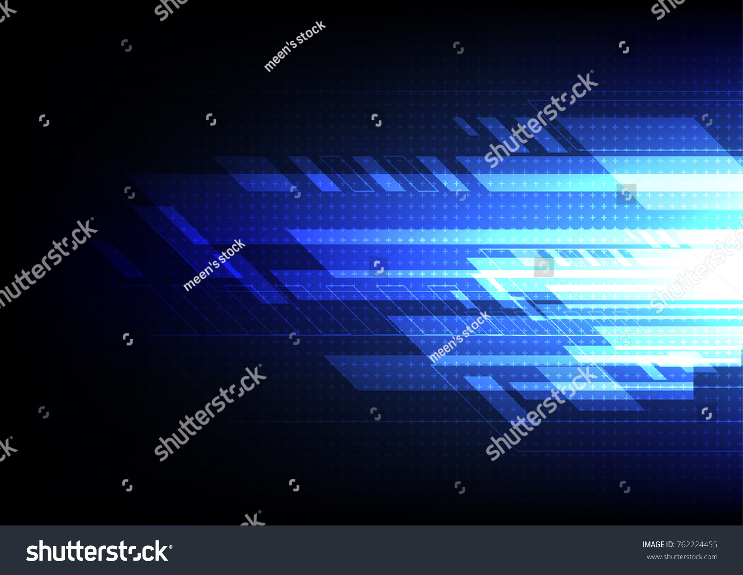 Abstract technology vector background digital lighting stock