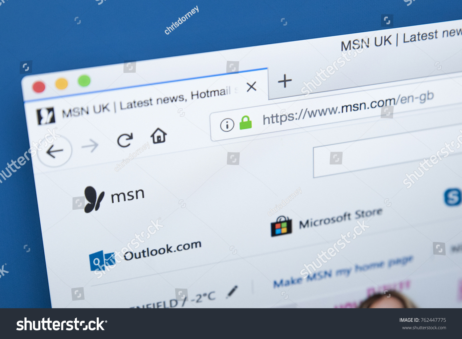 MSN UK  Hotmailcouk sign in Messenger Skype and