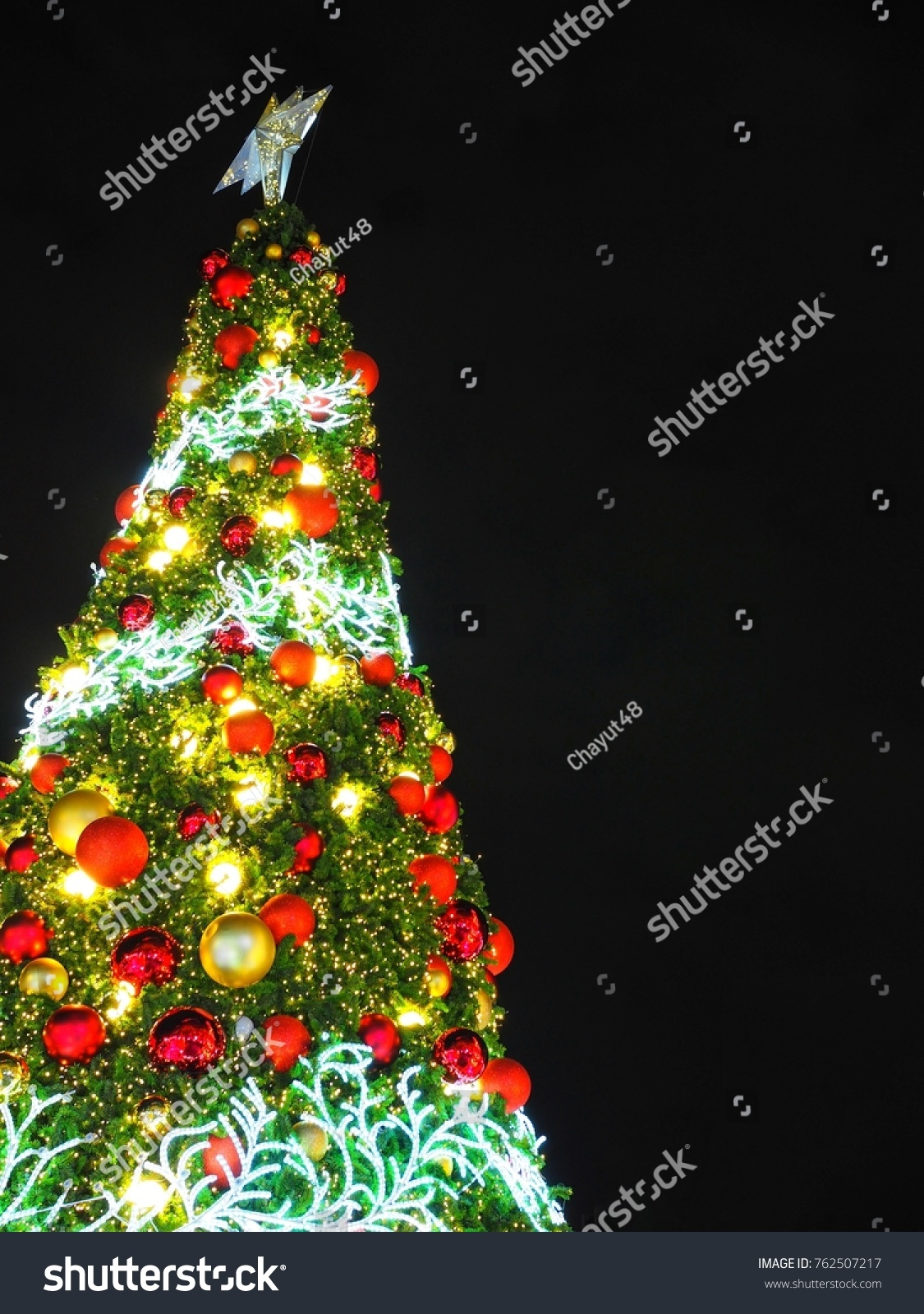 a bright colorful and festive christmas tree ez canvas