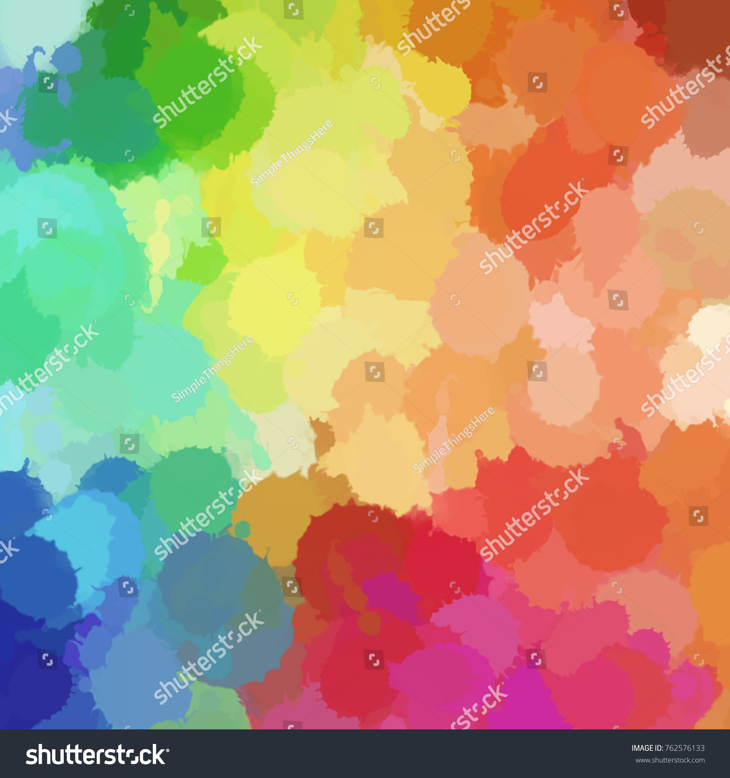 Design Smooth Abstract Texture Beautiful Color Stock Illustration