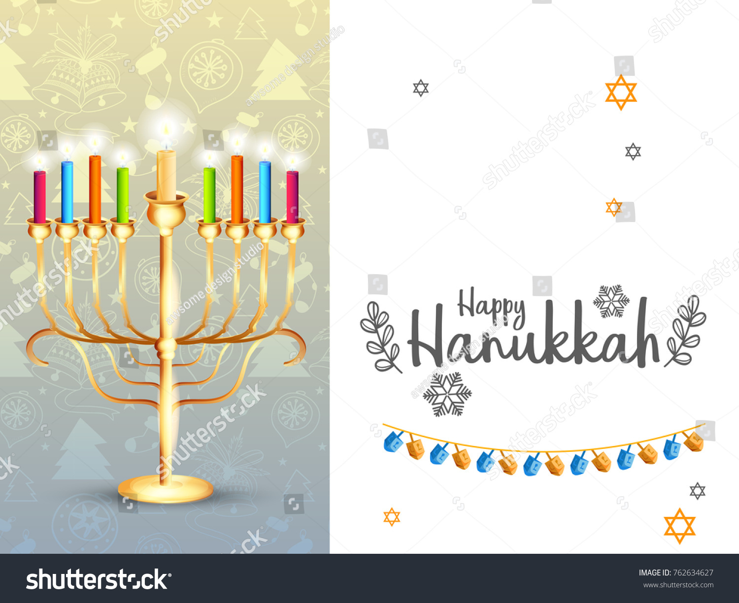 Hanukkah Greetings Sayings Gallery Greetings Card Design Simple
