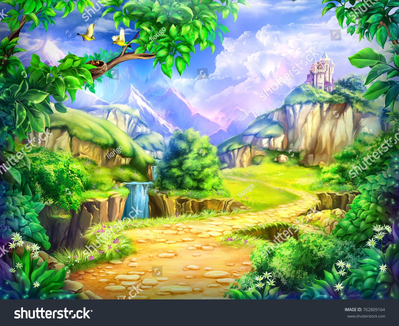 Fondo Animado Campo Parque Full Hd Animate Background: Cartoon Background Pictures
