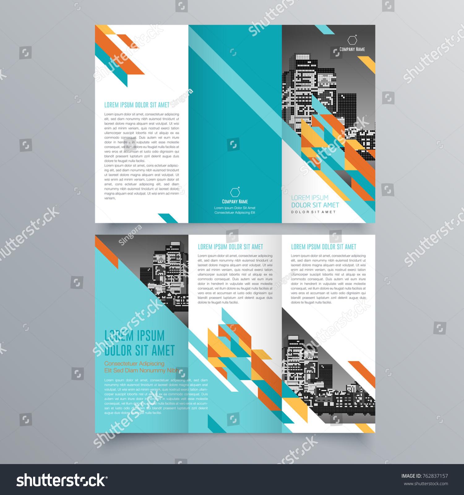 brochure design brochure template creative tri fold trend
