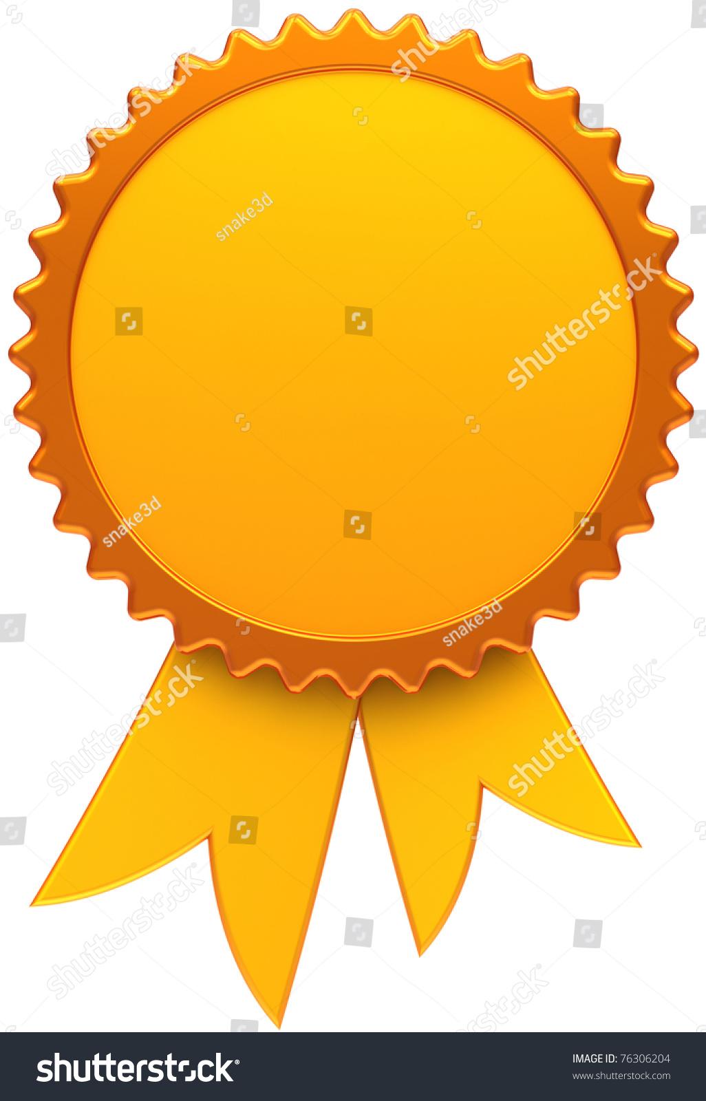 award ribbon template