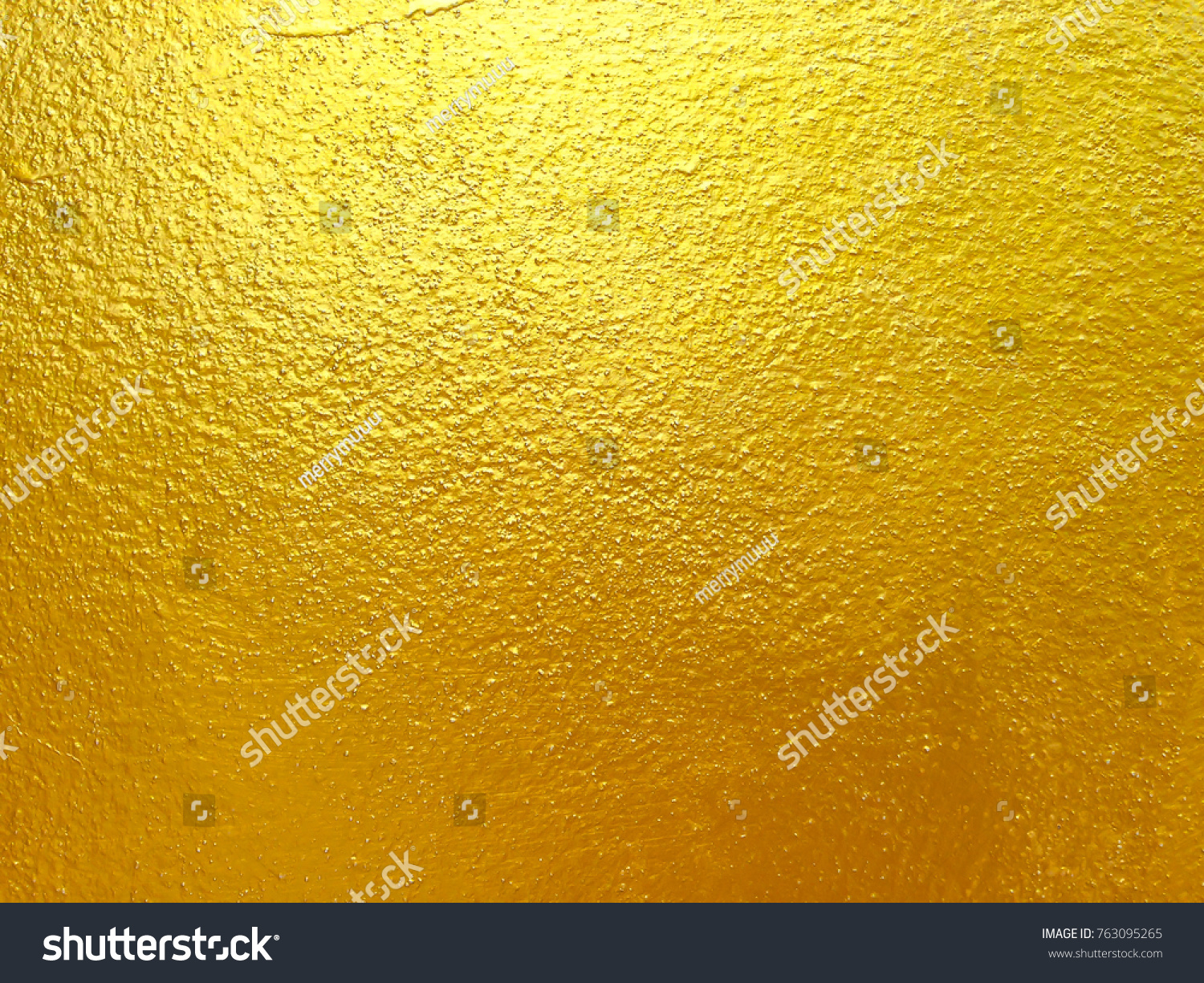 Gold concrete wall background and texture abstract | EZ Canvas
