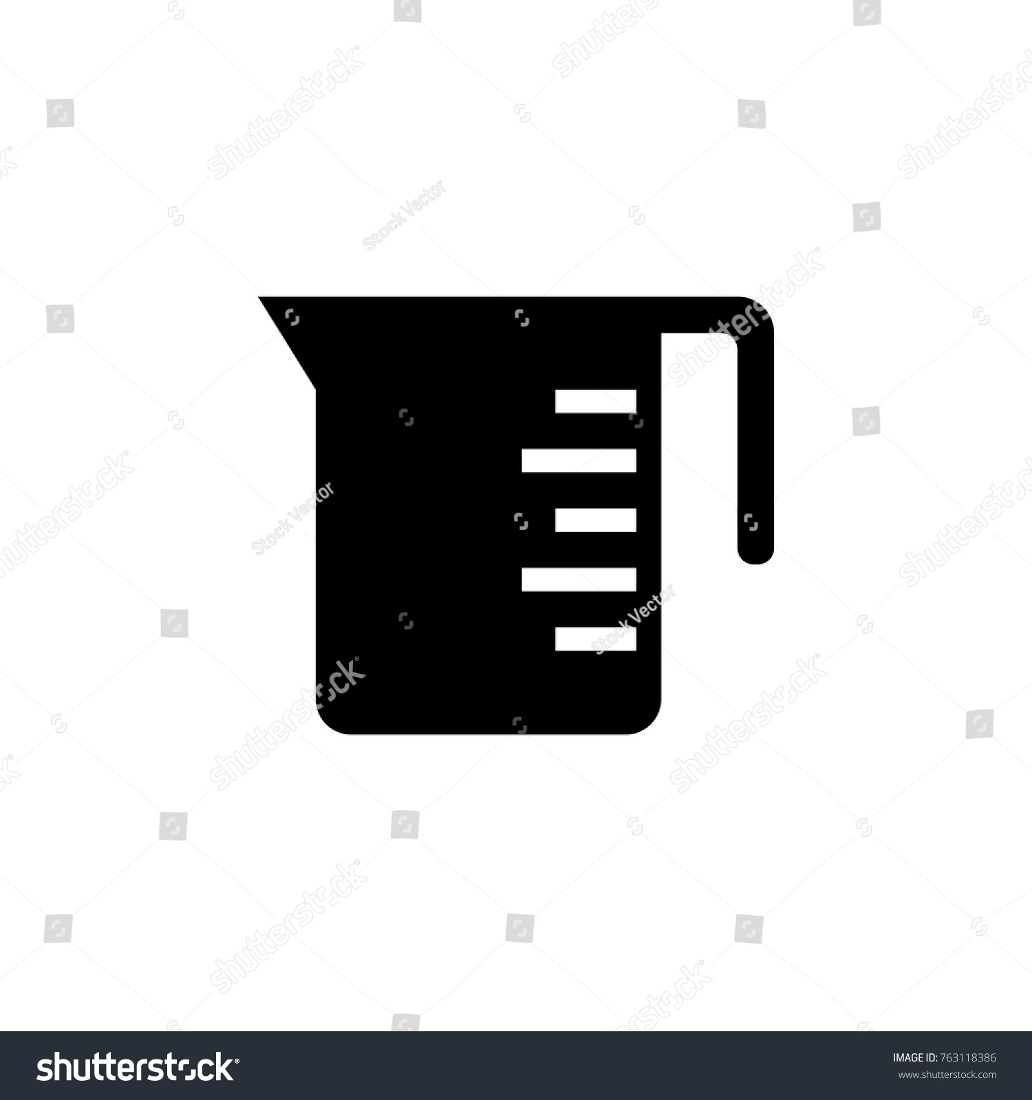 Measuring cup icon chef kitchen element stock vector 763118386 measuring cup icon chef kitchen element stock vector 763118386 shutterstock buycottarizona Choice Image