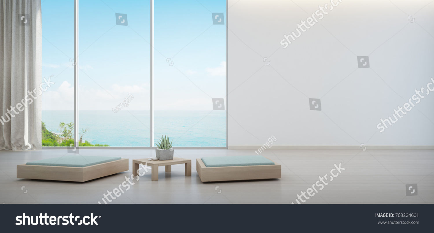 indoor beach furniture. Indoor Plant On Wooden Coffee Table And Minimal Furniture With Empty White Wall Background, Lounge Beach