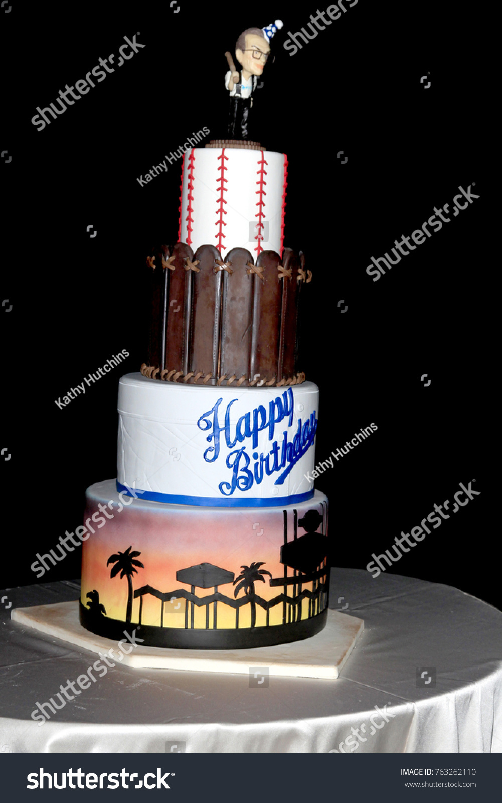 Wondrous Larry Kings Birthday Cake Images Stock Photos Vectors Funny Birthday Cards Online Eattedamsfinfo