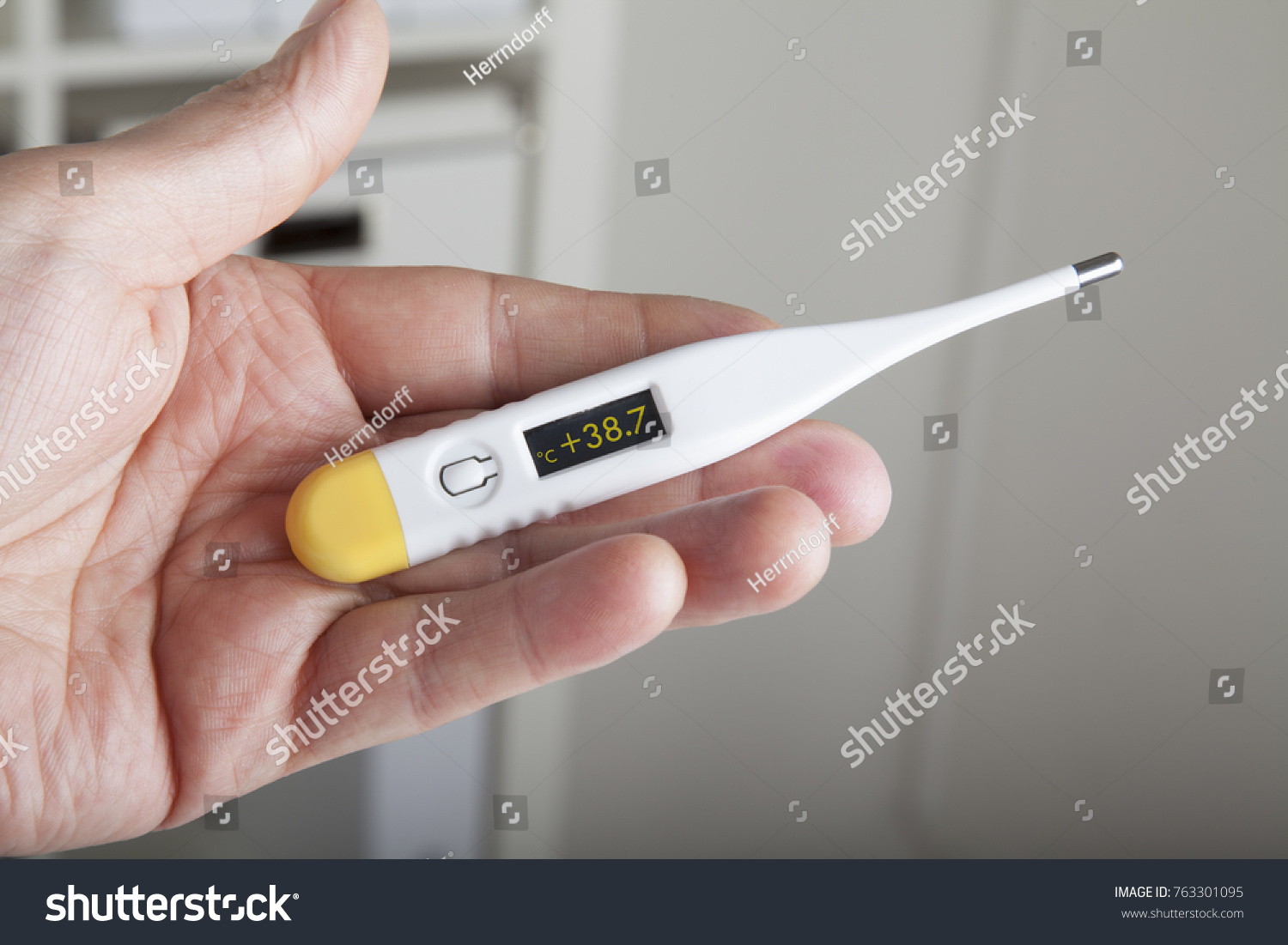 High Fever Thermometer