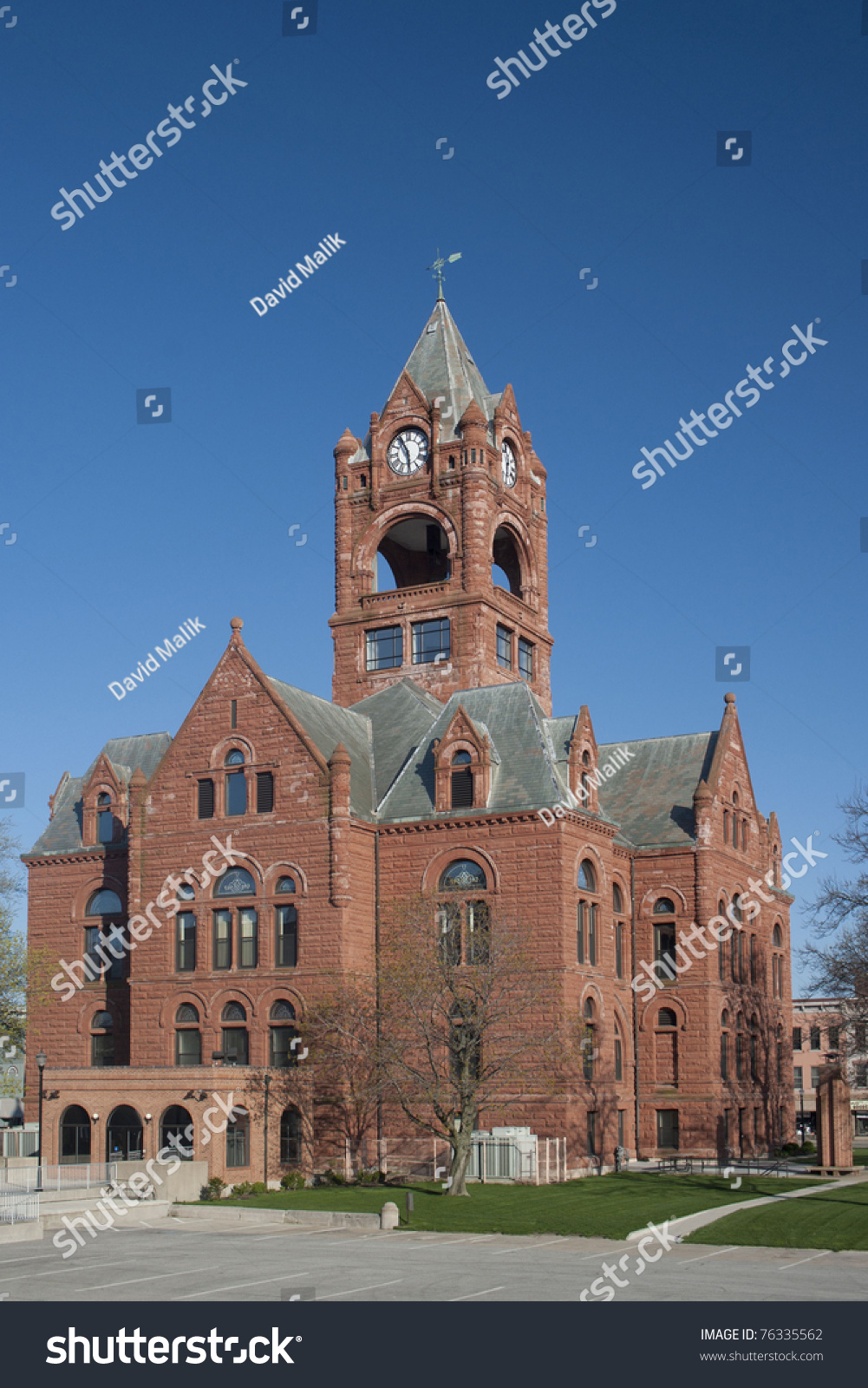 Laporte county courthouse laporte indiana stock photo for Laporte courthouse
