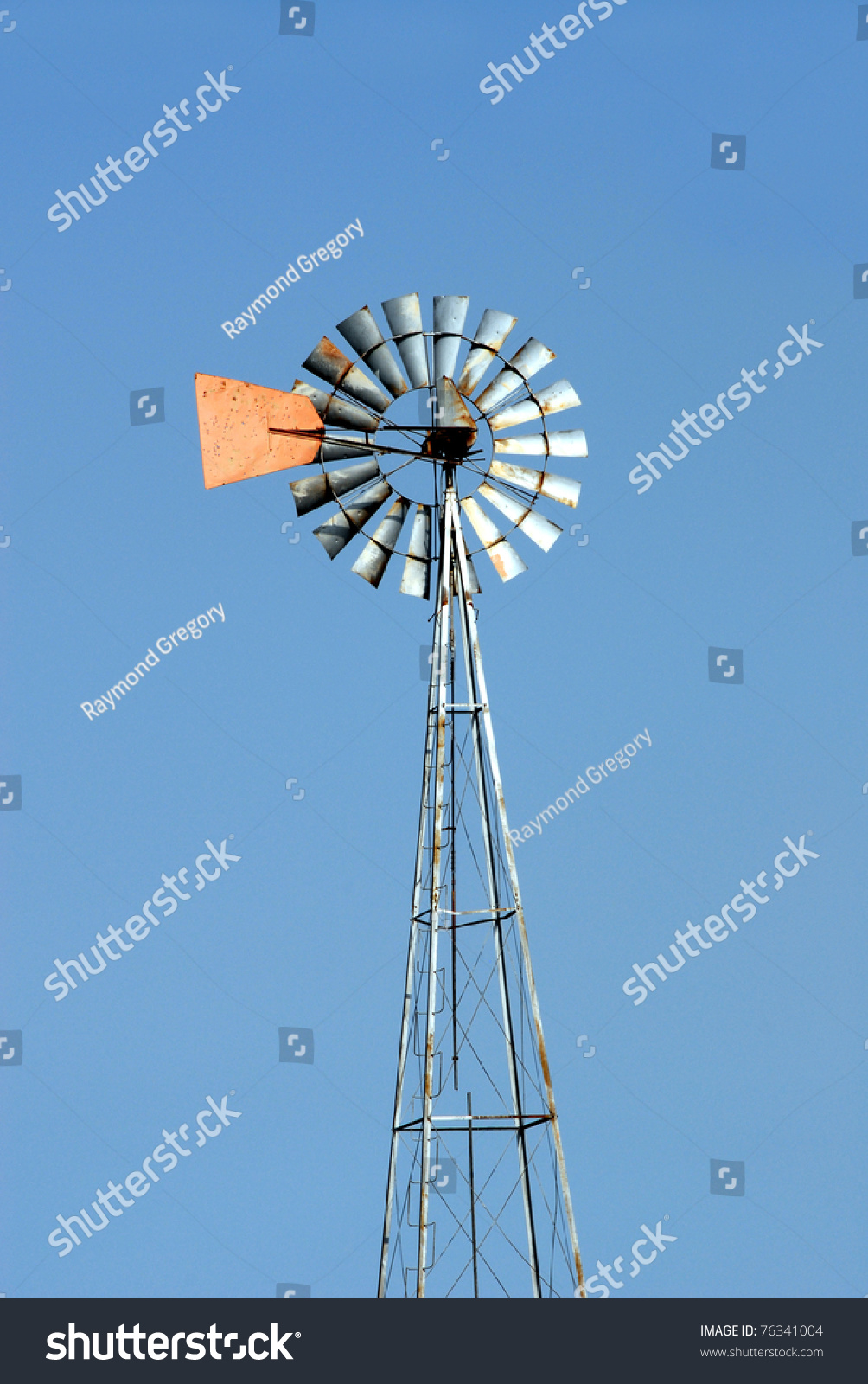 farm windmill drawing. Green Energy A Farm Windmill Used To Pump Water For Cattle Resource Draw Drawing O
