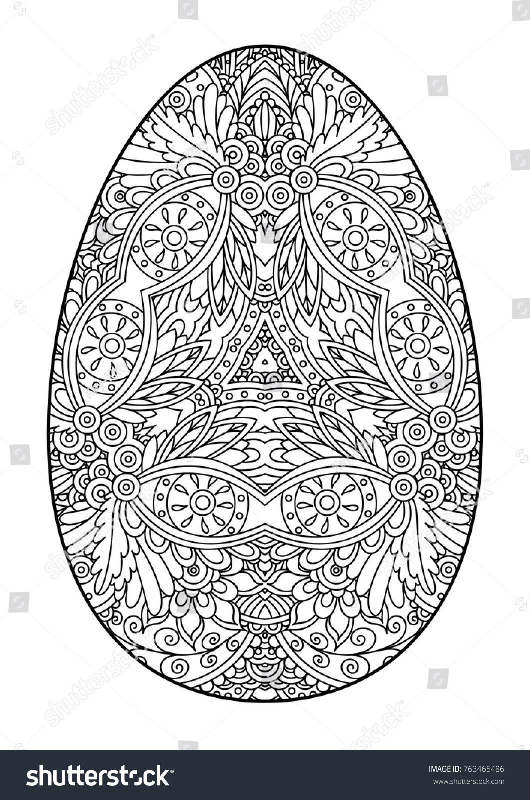 Cute Plain Egg Coloring Page Ideas - Professional Resume Example ...