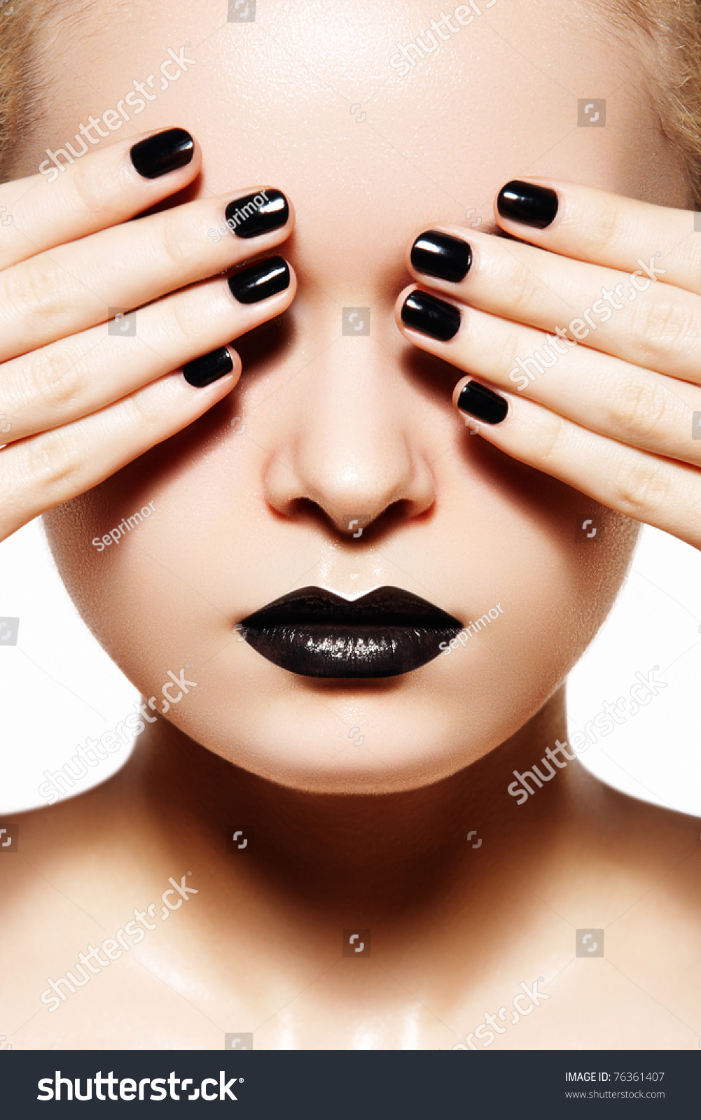 High Fashion Style Manicure Cosmetics Makeup Stock Photo 76361407 Shutterstock
