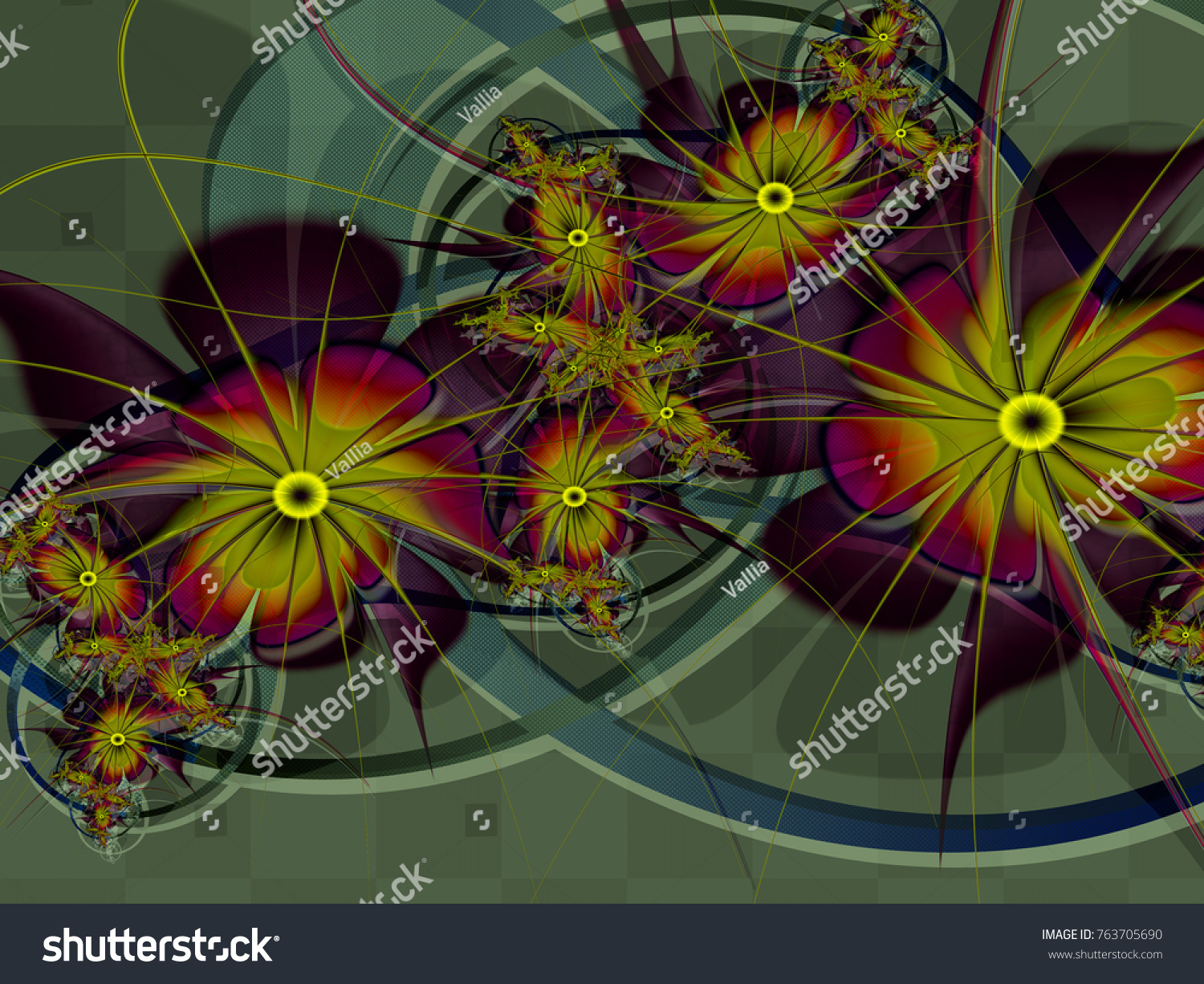Royalty Free Stock Illustration Of Abstract Fractal Background