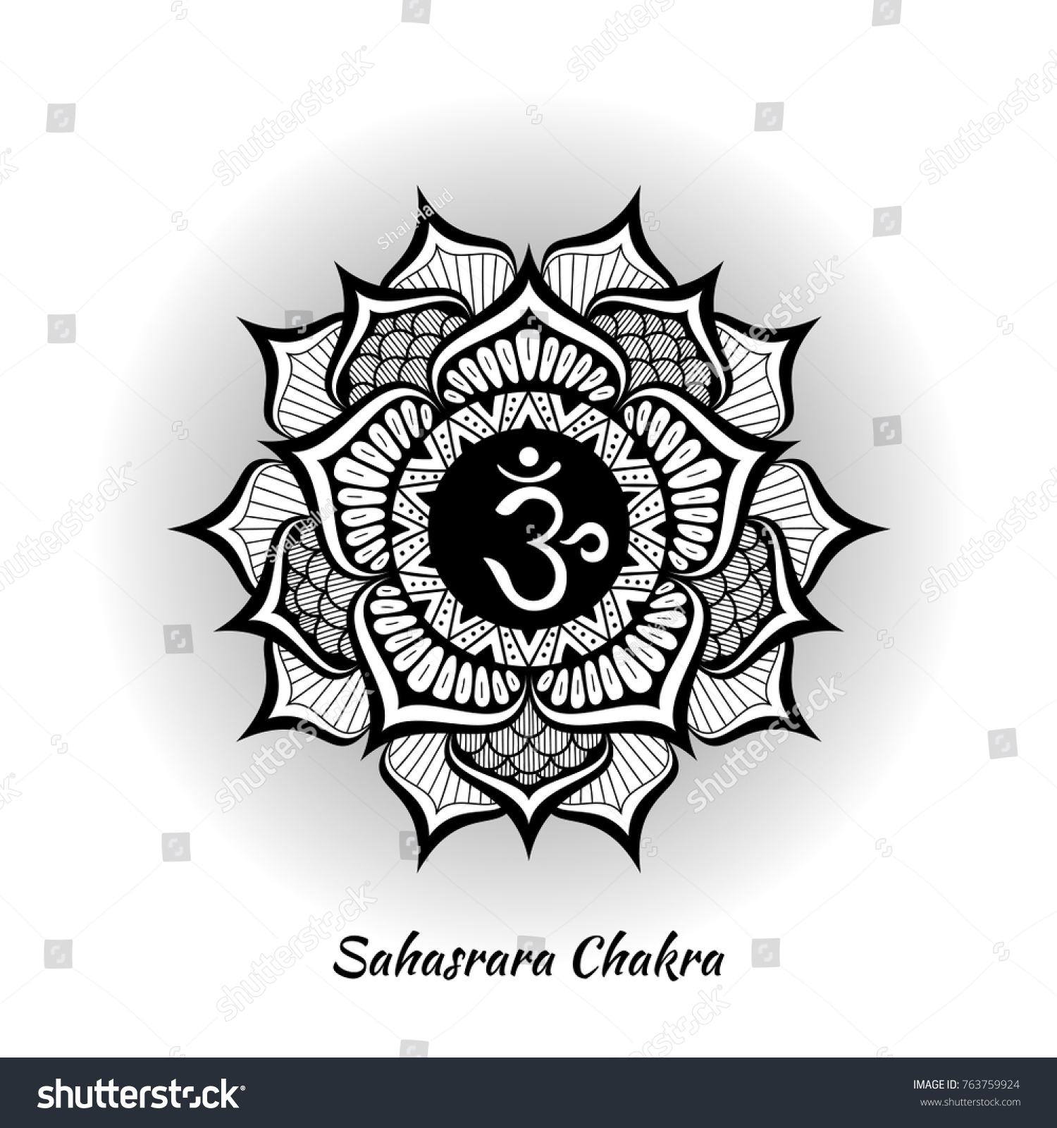 Sahasrara chakra symbol used hinduism buddhism stock vector sahasrara chakra symbol used in hinduism buddhism ayurveda the root chakra design for buycottarizona Gallery