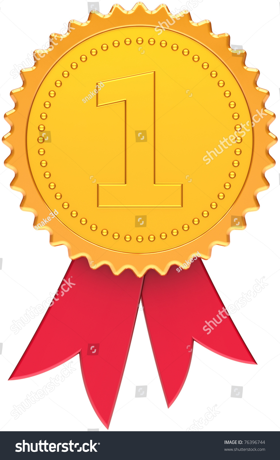 First Place Award Golden Red Ribbon Illustration 76396744 – First Place Award Template