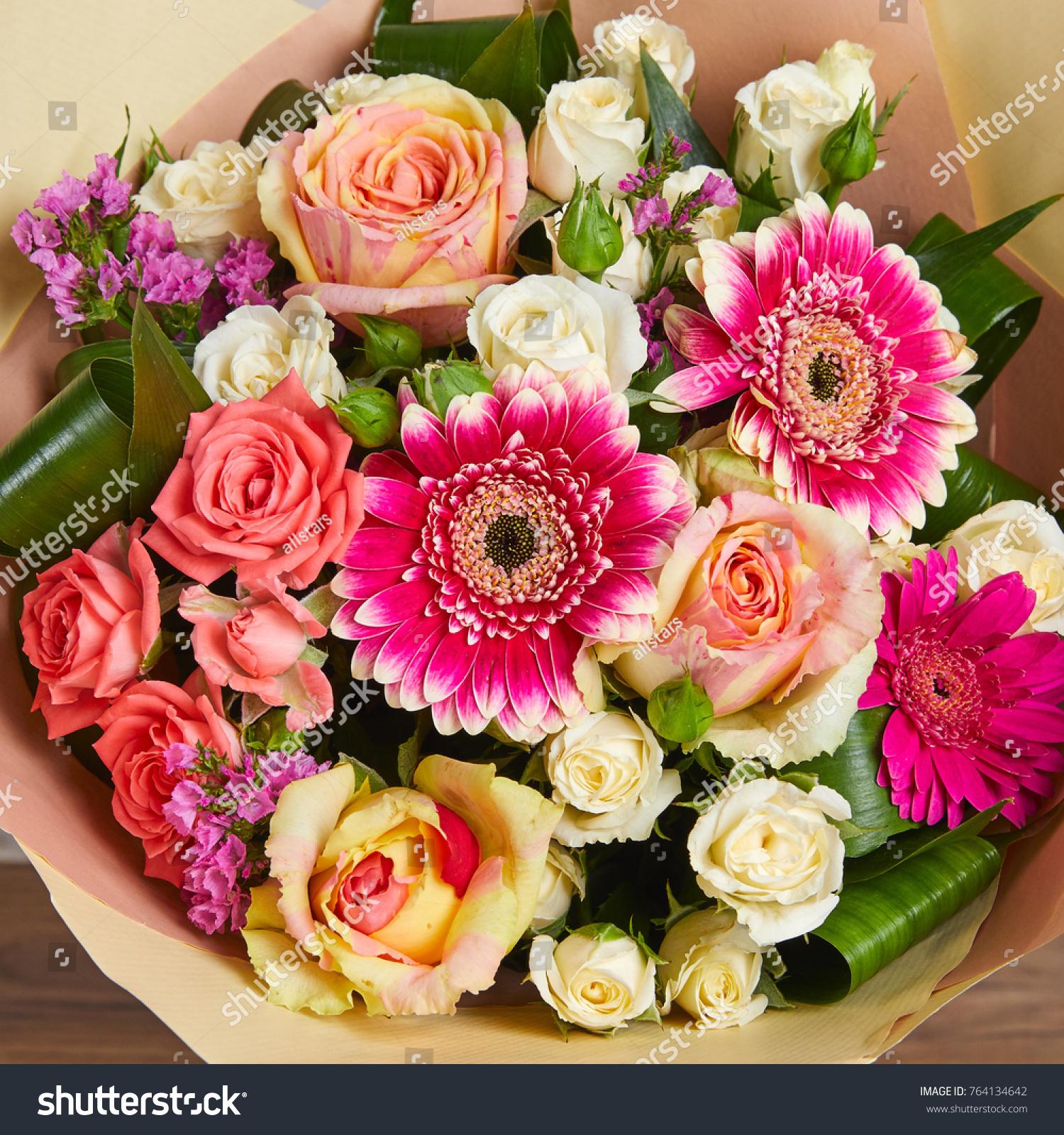 Nice Flower Bouquet Stock Photo Edit Now 764134642 Shutterstock