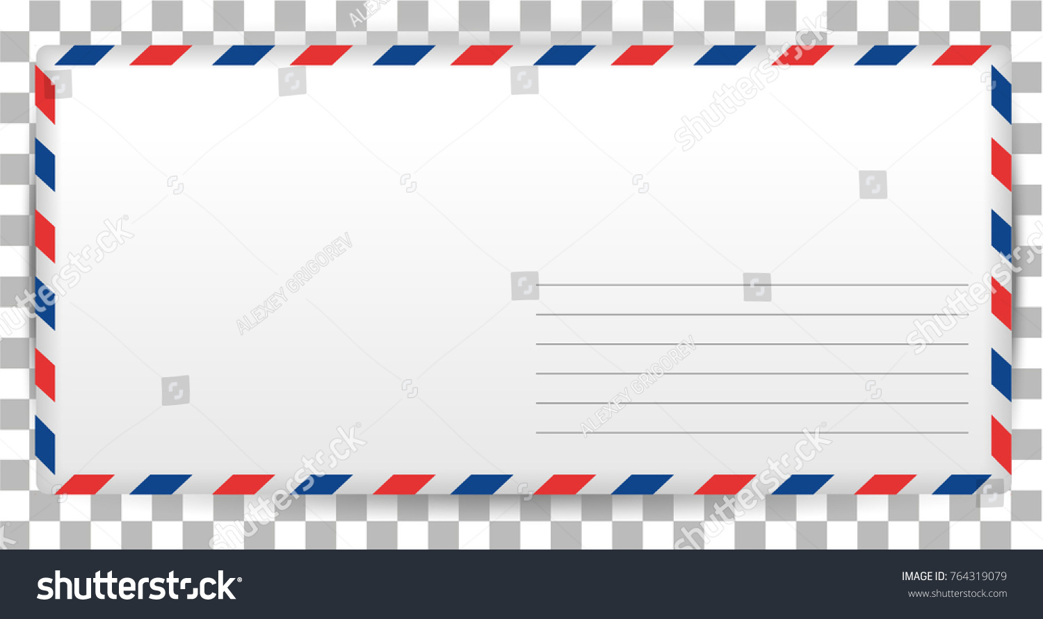 Blank Letter Template Santa Claus On Stock Vector (Royalty Free ...