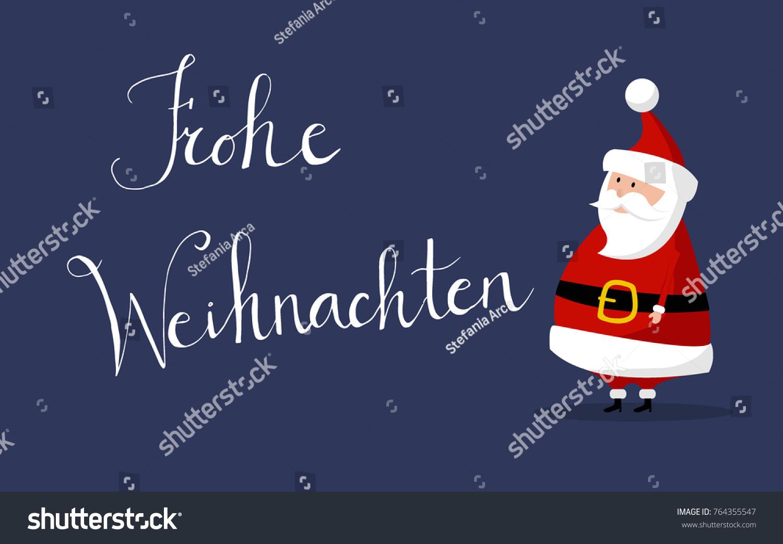 Basic Santa Claus Vector Merry Christmas Stock Vector 764355547
