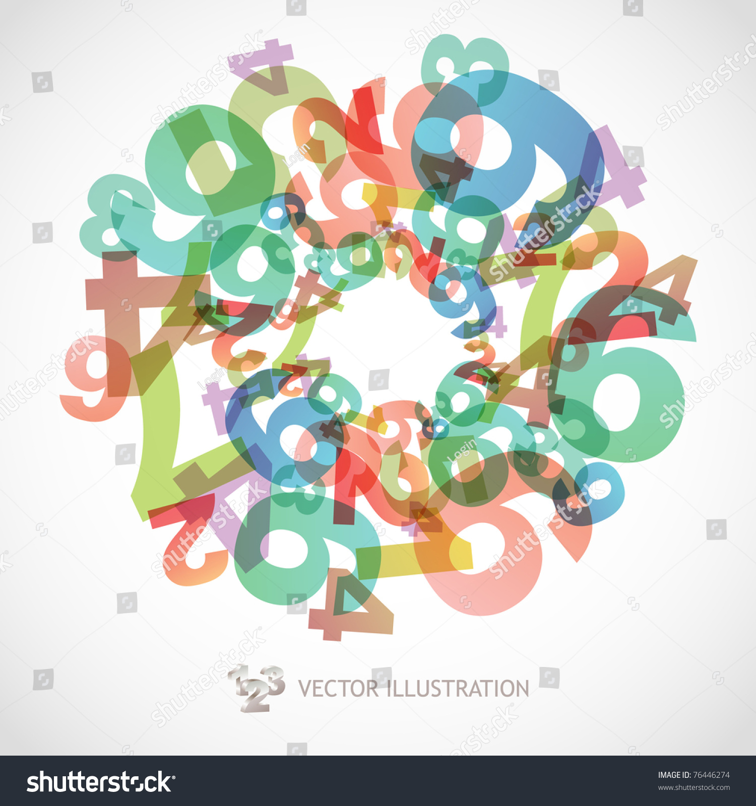 Mathematics background numbers abstract math symbols stock vector mathematics background with numbers abstract math symbols biocorpaavc Images