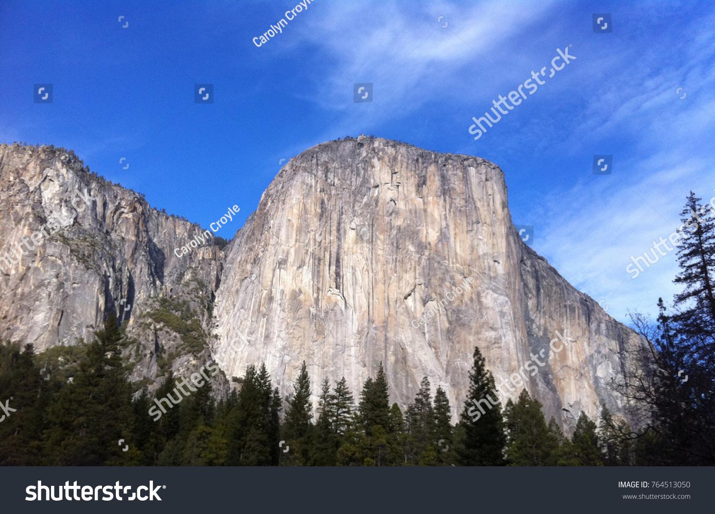 view granite face el capitan yosemite stock photo & image (royalty