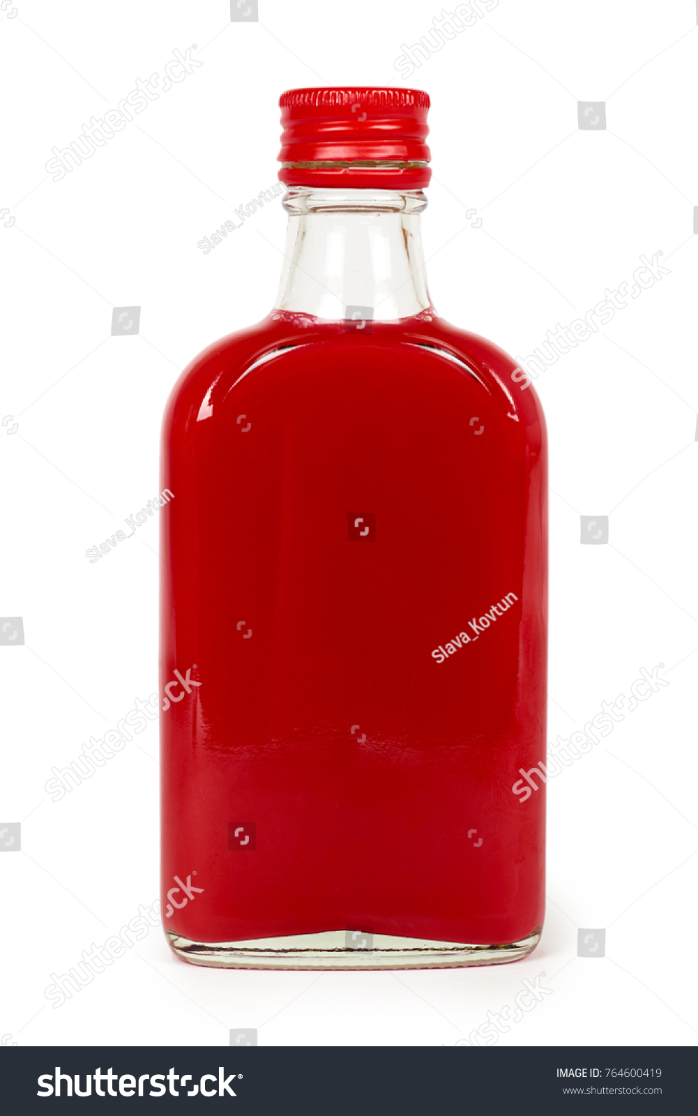 Home mini-bar: tincture on cranberries on alcohol