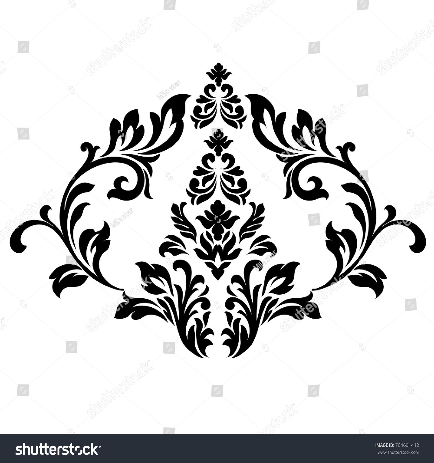 Vector Victorian Style Ornate Element Design Stock Photo (Photo ...