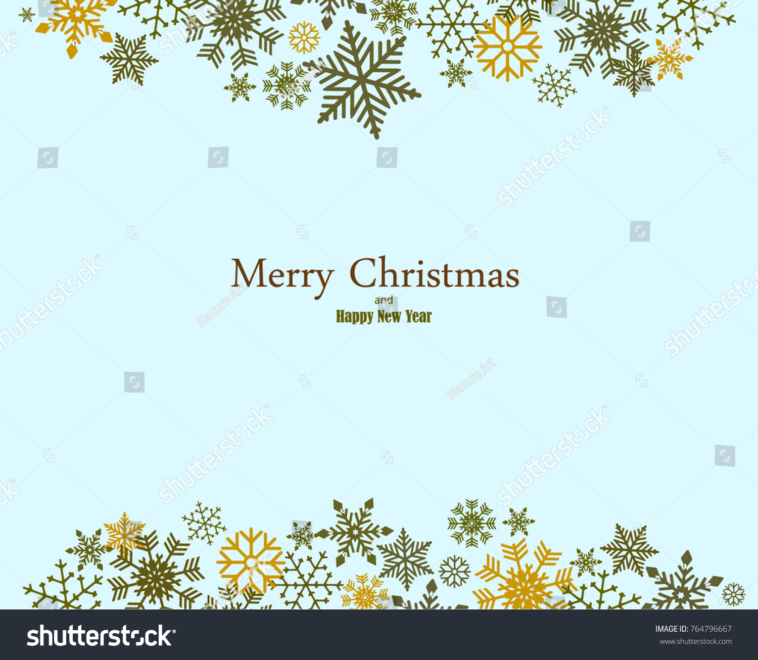 28b67c1641d4 Stock vector vintage blue green and silver christmas frame with elements  snow on dark blue background