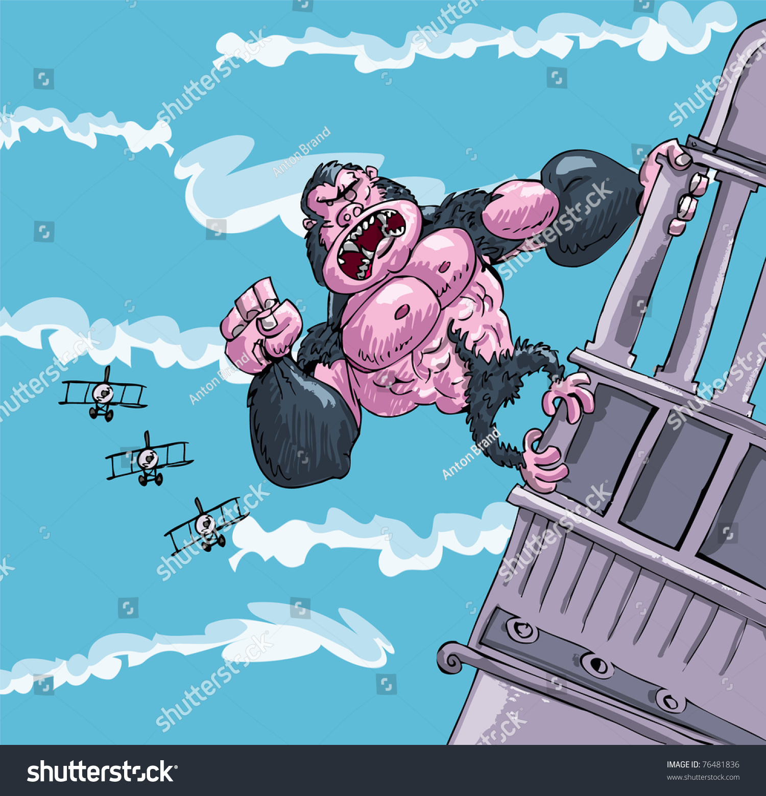 Image Gallery king kong cartoon